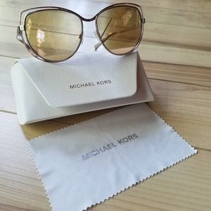 Michael Kors Accessories - Michael Kors rose and silver sunglasses